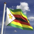 Stock Photo: Zimbabwe Flag