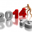 2014 New Years — Stock Photo