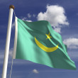 MauritaniFlag — Stock Photo #27441573