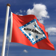 Arkansas Flag — Stock Photo #27441715