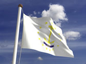 Bandiera del rhode island — Foto Stock