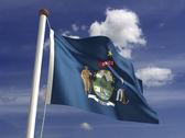 Maine Flag — Stock Photo