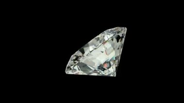 Cushion cut diamond — Stock Video