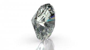 Cushion Cut Diamond — Stock Video