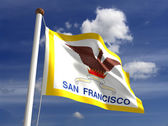 San Francisco City Flag — Stock Photo
