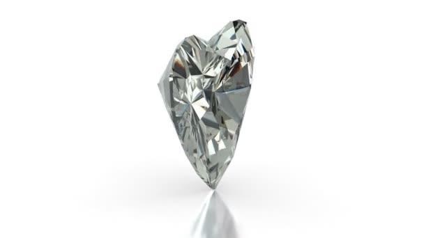 Coeur diamant taille — Vidéo