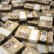 Stack of Canadian Dollar — Stock Photo #34768245