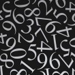 Scattered Numbers — Stock Photo