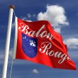 Stock Photo: Baton Rouge City Flag