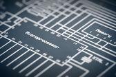 Electronic Diagram — Stock Photo