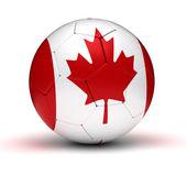 Gioco del calcio canada — Foto Stock