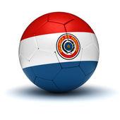 パラグアイ サッカー — ストック写真