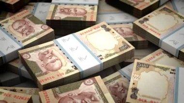 Billion Rupee — Stock Video