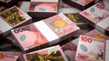 Billion New Zealand Dollar — Stock Video