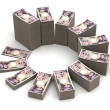 Japanese Yen Chart — Stock Photo #43861453