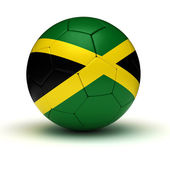 Jamaican Football — Stock Photo