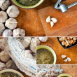 Garlic soup set — Stock Photo #19068199