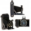 Retro bellows camera — Stock Photo