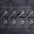 Stock Photo: Lacing fabric