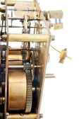 Old clock pinion mechanism — Stock Photo