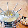 Fondue set — Stock Photo