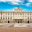 Royal Palace of Madrid — Stock Photo