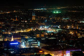 Wroclaw old town by night — Stockfoto