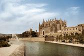 Catedral de Palma de Mallorca — Stock Photo
