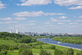 View on a bend of the river 2 — Fotografia Stock