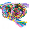 Royalty-Free Stock Photo: Colored skein
