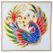 Royalty-Free Stock Photo: Embroidery depicting the fabulous bird