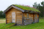Old norwegian traditional house — Stock Photo