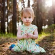 Child in forest — Stock Photo #34638603