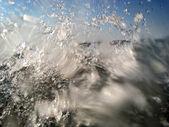 Splashing Water wave Drops — Stockfoto