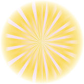 Sunburst abstract vector. — Stock Vector