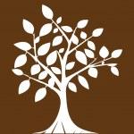 Abstract tree . — Stock Vector