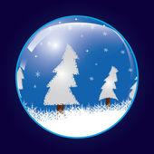 Christmas ball . — 图库矢量图片