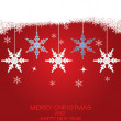 Christmas background . — Vector de stock #15889999