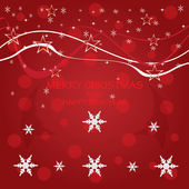 Christmas background . — Vettoriale Stock