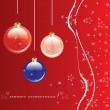 Vector de stock : Christmas background .