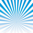 Vector abstract background of blue star burst . — Stock vektor