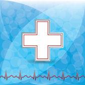 Blod donation vektor. — Stockvektor