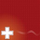 Sfondo di donazione di sangue. — Vettoriale Stock