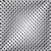 Metal template with texture. — Stock Vector
