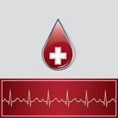Caduceus medical symbol vector illustration — Stock Vector