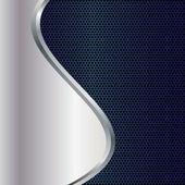 Abstract background, metallic brochure — Stock Vector