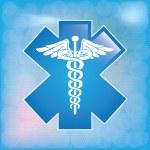 Caduceus medical symbol — Stock Vector #32415215