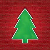 クリスマスのグリーティング カード。メリー クリスマス レタリング — ストックベクタ