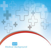 Medical background . — 图库矢量图片
