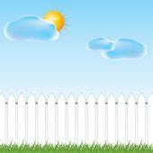 Summer Background . — Stock vektor